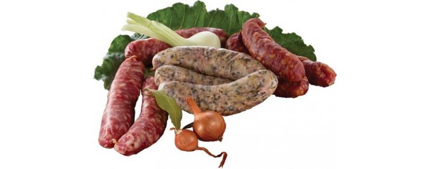 Diots Savoyards, saucisses aux choux, saucisses sèches
